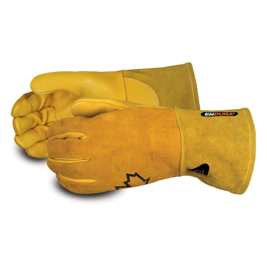 #305GE Superior Glove® Endura® Premium Gold Elk-Skin TIG Welding Gloves