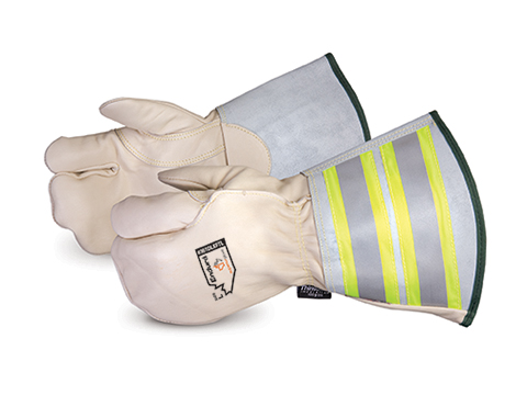 361DLXFTL - Superior Glove® Endura® Delux Winter One-Finger Lineman Mitt with 6` Reflective Gauntlet Cuff