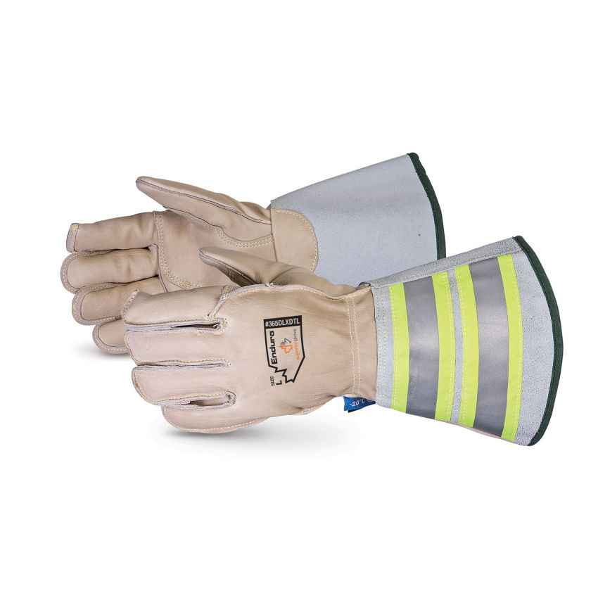 Superior Glove® Deluxe Winter Lineman Glove With Double-Weight Thinsulate™ and 6` Cuff  #365DLXDTL