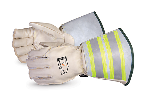 Superior Glove® Endura® Deluxe Winter Lineman Gloves, 6` Reflective Gauntlet Cuff