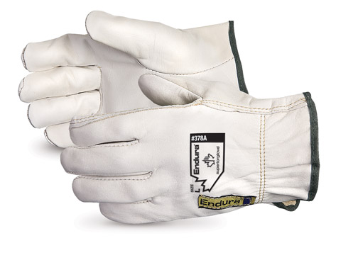 Superior Glove®  Endura® Cowhide Leather Driver Gloves #378A