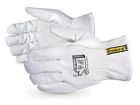 378GKTFG Superior Glove® Endura® Goat-Grain Cut Resistant Driver Gloves with Full Kevlar®/Composite Filament Fiber Liner