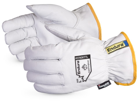 Superior Glove® Endura® Goatskin Winter Driver Gloves #378GKTTL