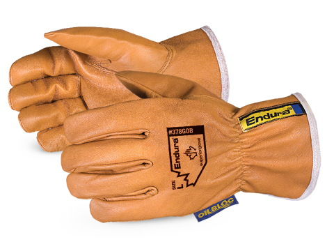 Superior Glove®  Endura® Oilbloc™ Goat-Grain Driver Gloves