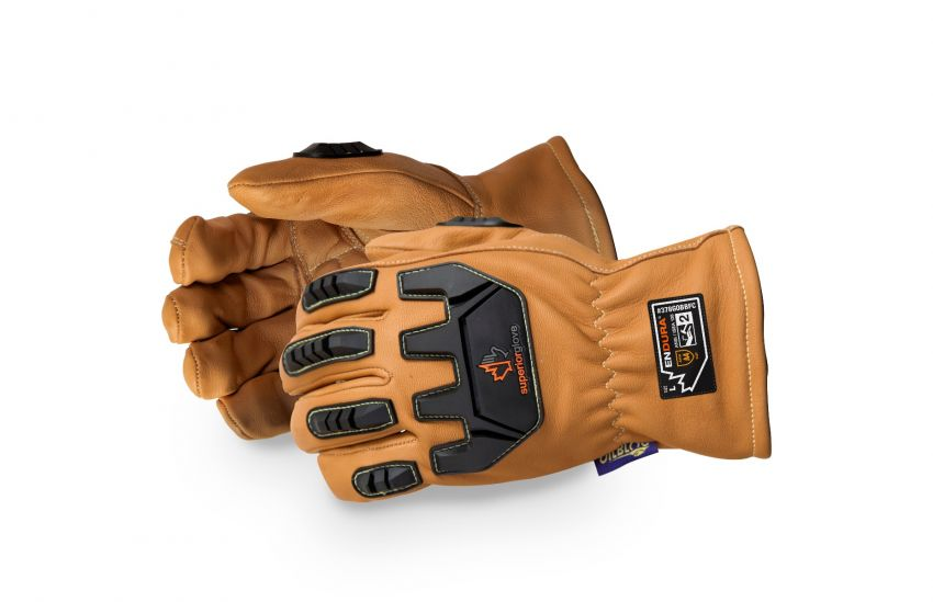 378GOBBFC Superior Glove® Endura® Oilbloc™ Goatskin Driver Gloves With Crush-Resistant Finger Caps And Impact-Resistant Protection