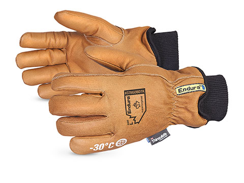 378GOBDTK - Superior Glove® Endura® Deluxe Oilbloc™ Double Thinsulate® Driver Gloves