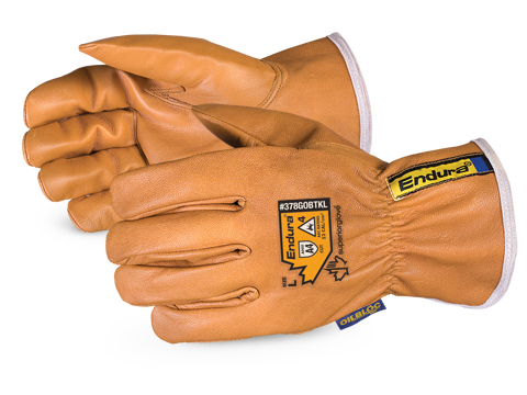 Superior Glove® Endura® Kevlar®-Lined Oilbloc™ Winter Goat-Grain Drivers Gloves