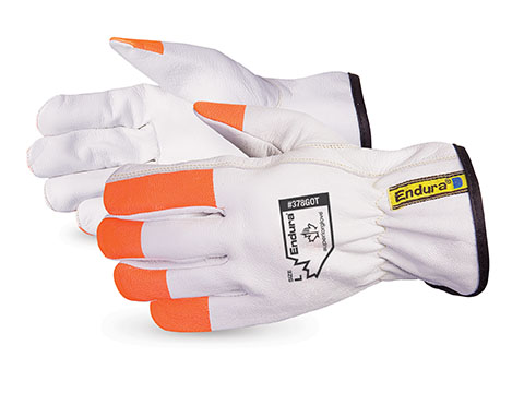 #378GOT Superior Glove®  Endura® Goatgrain Glove w/ Hi-Viz Fingertips