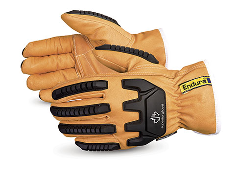 Superior Glove® Endura® Kevlar® & Thinsulate-Lined Anti-Impact Goatskin Driver Cut Gloves
