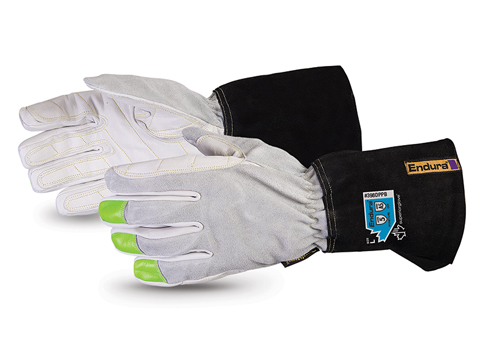 Superior Glove® Endura® Deluxe Buffalo Lineman, Rigging Gloves Lined with Punkban™