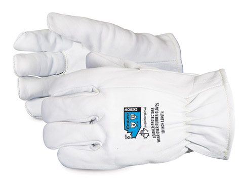 6CH5SKG - Superior Glove® Endura® Low-Voltage Rubber Glove Protectors