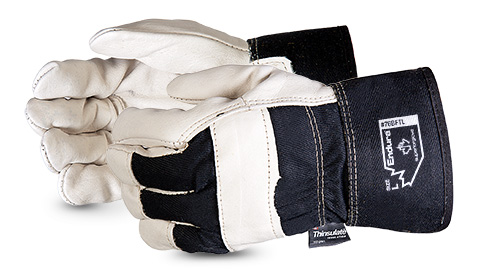 #76BFTL Superior Glove® Endura® Thinsulate™ Cowgrain Gloves