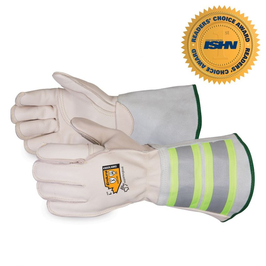 365DLX6KG Endura® Deluxe Kevlar®-Lined Lineman Gloves with 6