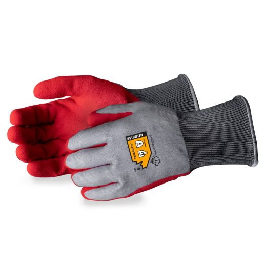 S18WTLFN Superior Glove® TenActiv™ Waterproof Foam Nitrile Coated Winter Gloves