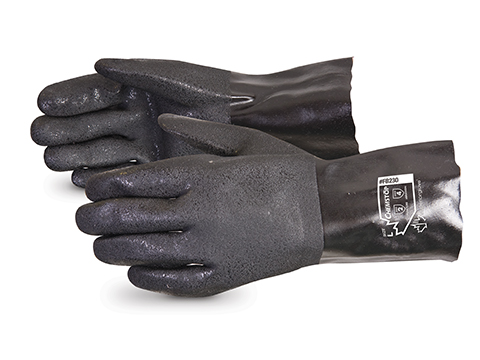 #FB230 Superior Glove®  Chemstop™ Double-Dipped PVC Gloves w/ Gauntlet Cuff