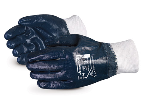 #GNTFC Superior Glove® Chemstop™ Medium-Duty Fully Nitrile-Coated Gloves