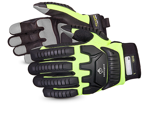 Superior Glove® Clutch Gear® Anti-Impact Mechanics Gloves #MXVSB