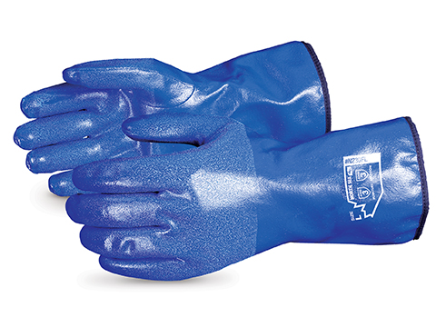 Superior Glove® North Sea Nitrile Coated Fleece Lined Water-Proof Glove
