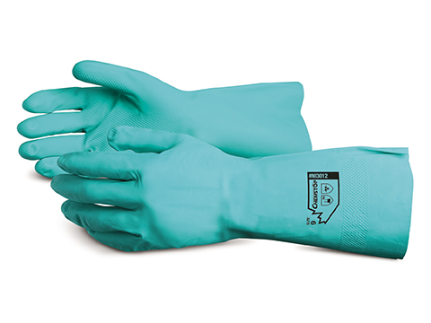 #NI3012 Superior Glove®  Chemstop™ 13` Unsupported 12 mil. Nitrile Glove