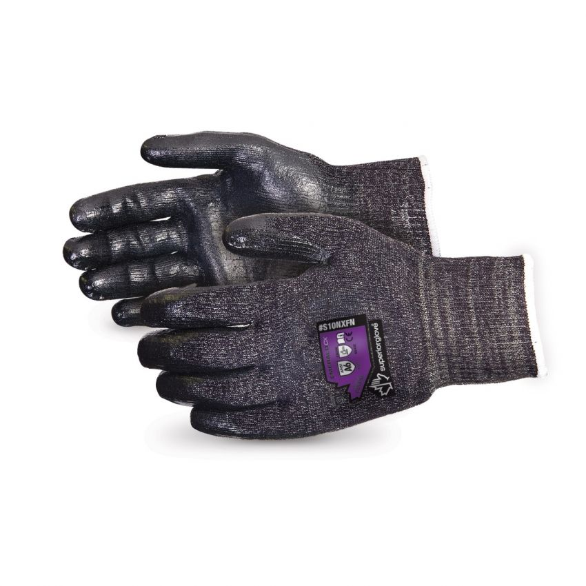 #S10NXFN Superior Glove® Emerald CX® 10-Gauge Cut-Resistant Work Glove with Foam Nitrile Palms