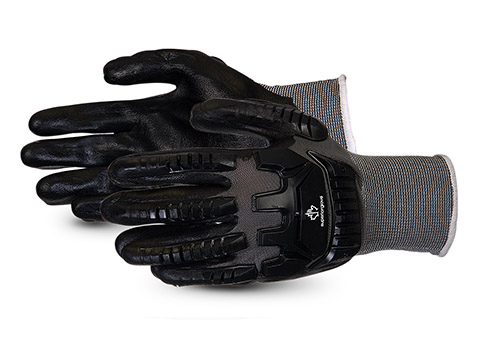#S13BFNVB Superior Glove® Dexterity® Impact-Resistant Nitrile-Dipped Gloves