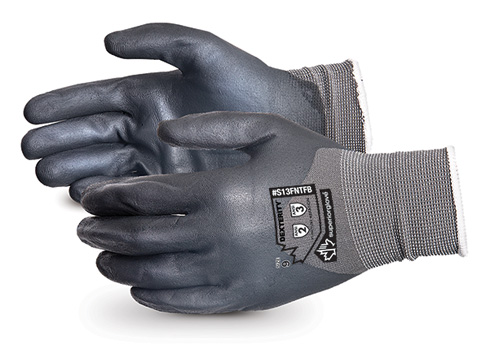 #S13FNTFB Superior Glove® Dexterity® Foam Nitrile-Dipped Work Gloves