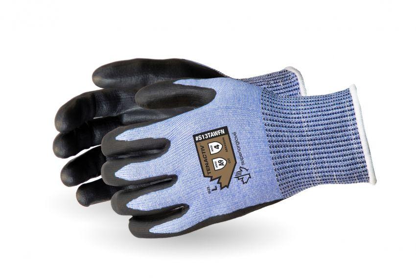 Superior TenActiv Abrasion Size 9 Composite Knit Cut /& Slip Resistant Gloves with ZedCoat Palms