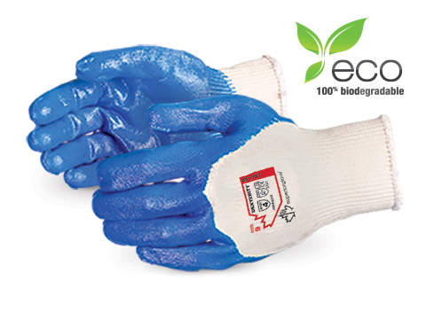 #S15NT Biodegradable Dexterity Nitrile Coated Knit Gloves
