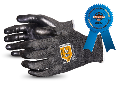 S18TAFGFN Superior Glove® TenActiv™ Foam Nitrile Coated Gloves