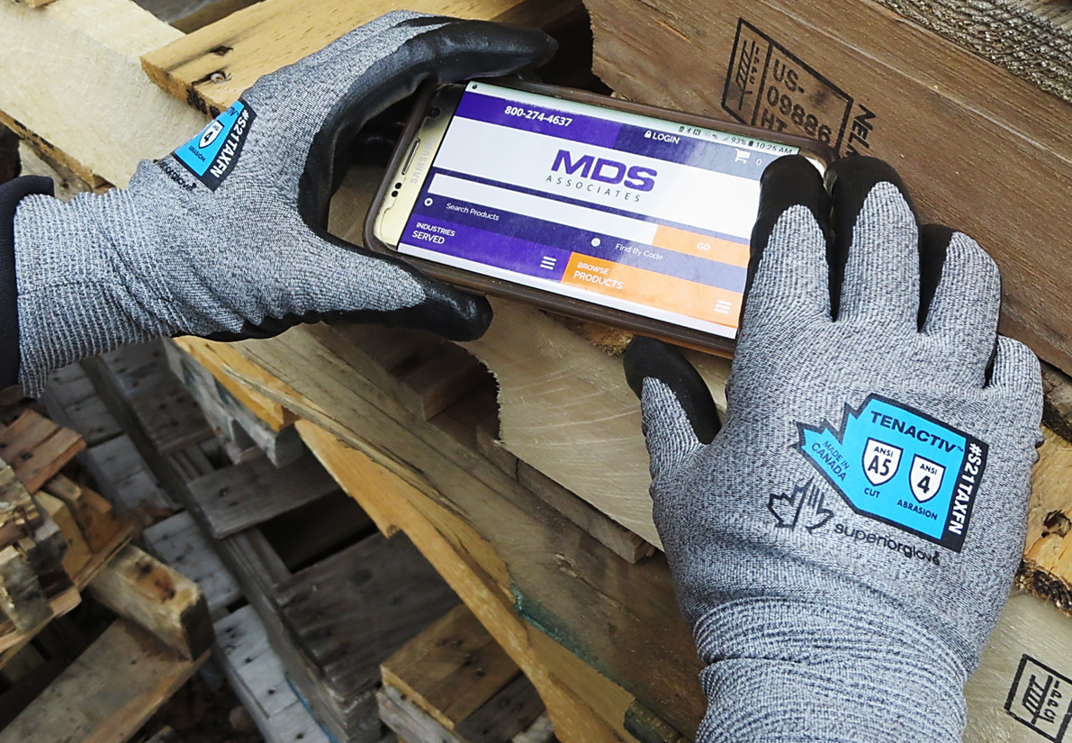 S21TAXFN Superior Glove® TenActiv™ Foam Nitrile Coated Gloves