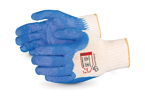 #S7NT Superior Glove® Dexterity® 7-gauge Cotton Knit with Nitrile Palms