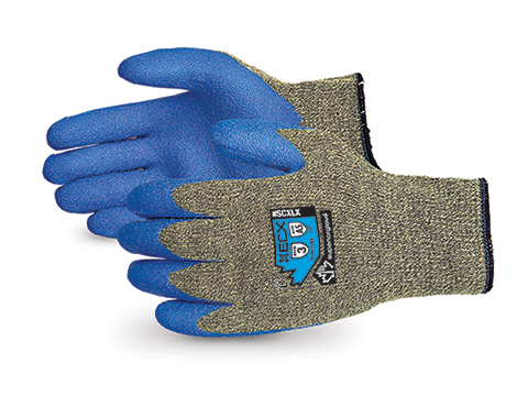 #SCXLX Superior Glove® Emerald CX™ Kevlar® Composite Knit Cut & Puncture Resistant Work Gloves with Latex Palms