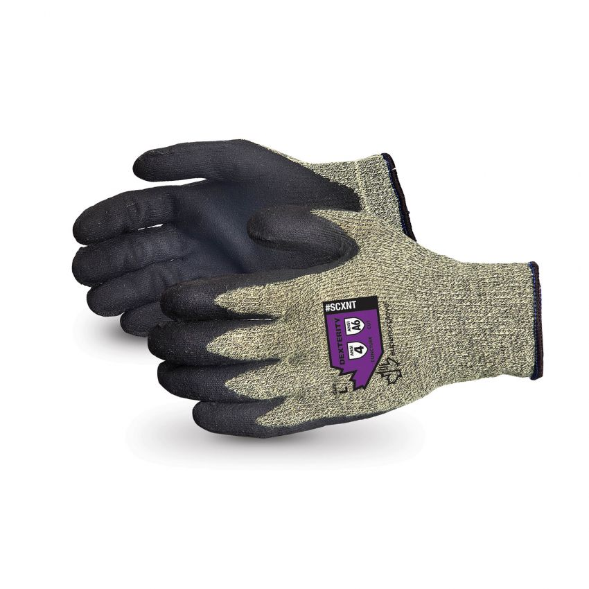 #SCXNT Superior Glove® Emerald CX™ Kevlar® Composite Knit Cut Resistant Work Gloves with Nitrile Palms