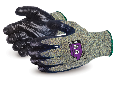 #SCXSMNT- Superior Glove® Emerald CX® Kevlar®/Wire-Core Work Gloves with Steel Mesh Palms
