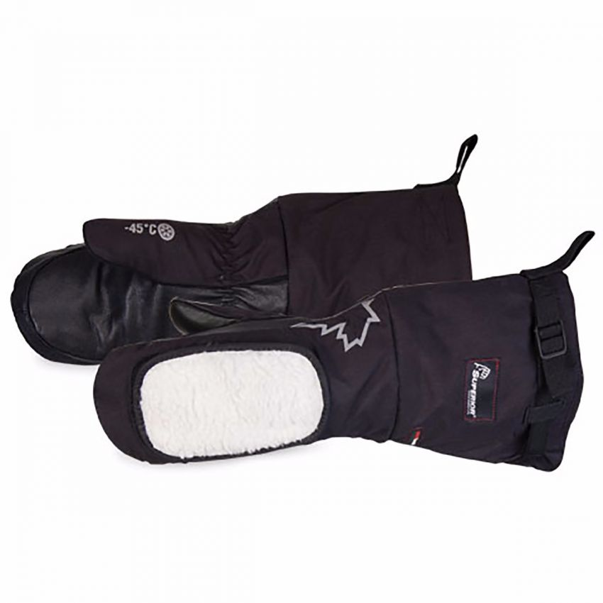 #SNOWD200L - Superior Glove® Extreme Cold Deluxe Weather Mitt w/ Removable Liner & Cheek Wiper