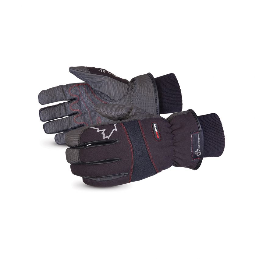 #SNOWPUL - Superior Glove® SnowForce™ Polyester Softshell Thinsulate™ Lined Winter Driver Gloves