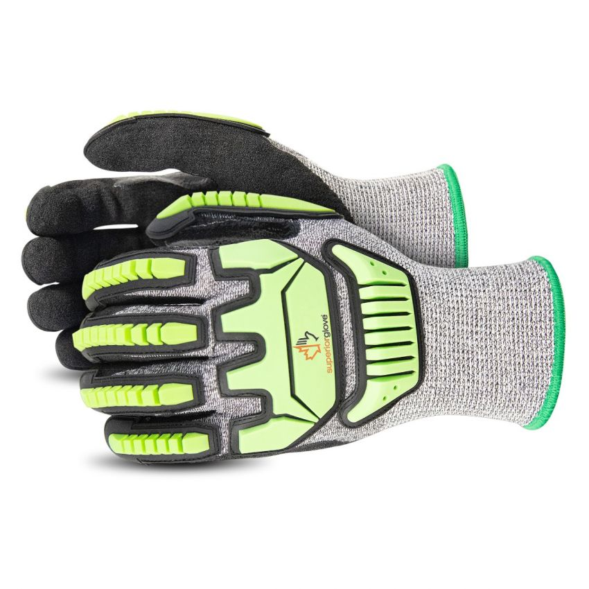 #STACXPNRVB - Superior Glove® TenActiv™ Composite-Knit Cut and Impact Resistant Glove with Reinforced Thumb and Micropore Nitrile Grip