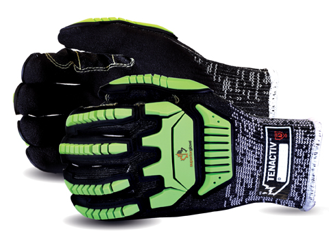 #STACXPNVB - Superior Glove® TenActiv™ Cut-Resistant Anti-Impact Glove made with Micropore Nitrile Grip