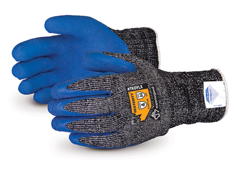 #TKDYLX Superior Glove® Dexterity® Cold-Weather Composite-Knit with Dyneema® & Latex Palms