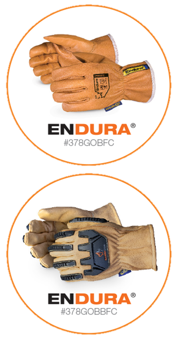 Endura® Leather Driver Gloves with Finger Caps from Superior Glove®