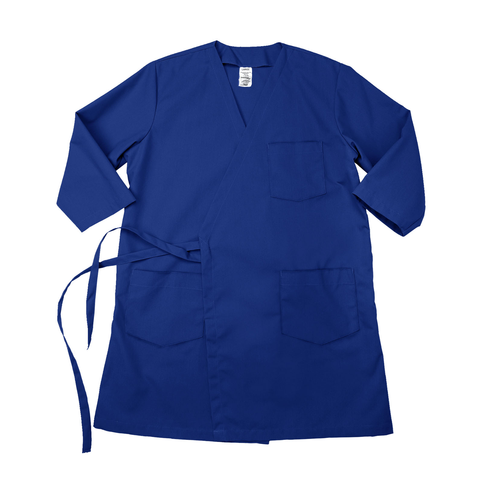 WR17/WRDC Pinnacle Textile Wraparound 3/4 Sleeve Smock - Royal Blue