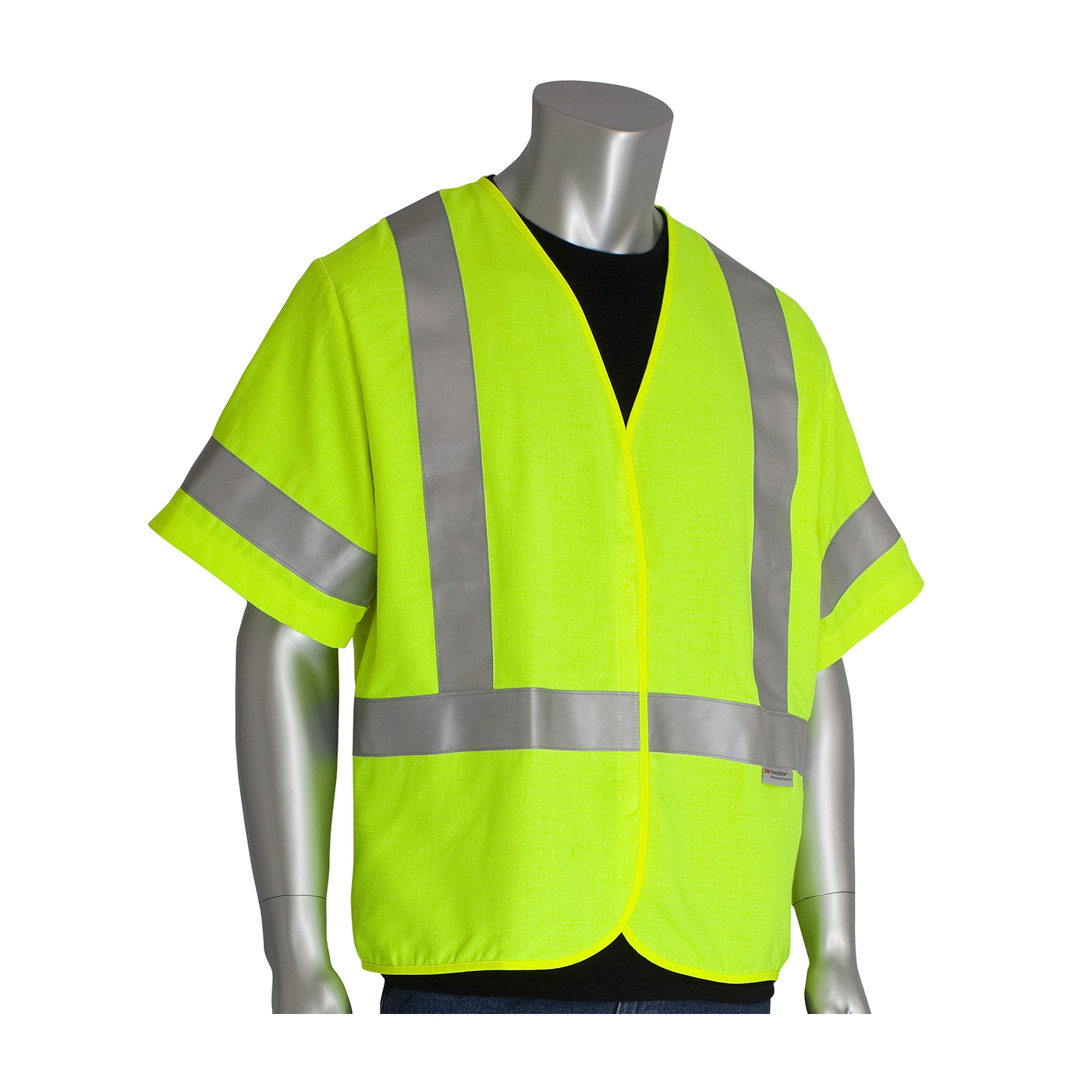 #305-3000 PIP Flame Resistant Safety Vest w/ Reflective Tape - Class R3