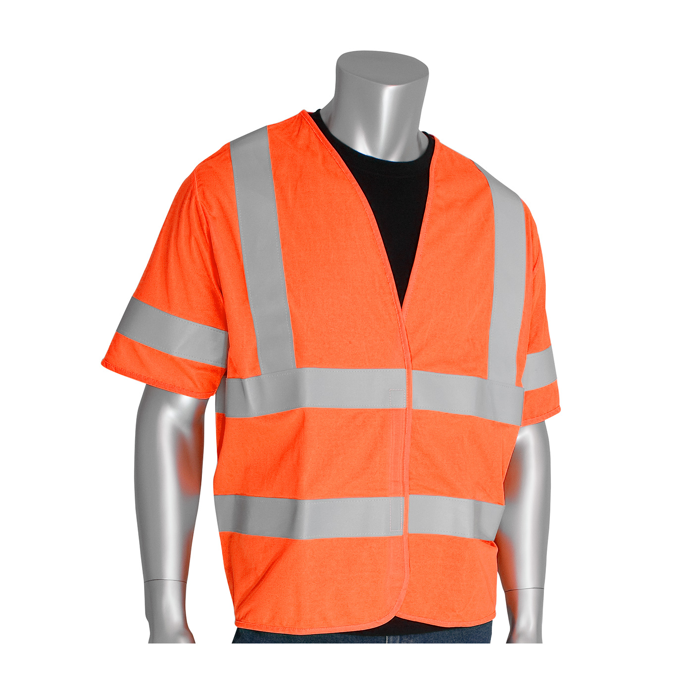 PIP® ANSI Type R Class 3 FR Treated Solid Vest #305-HSSVFR