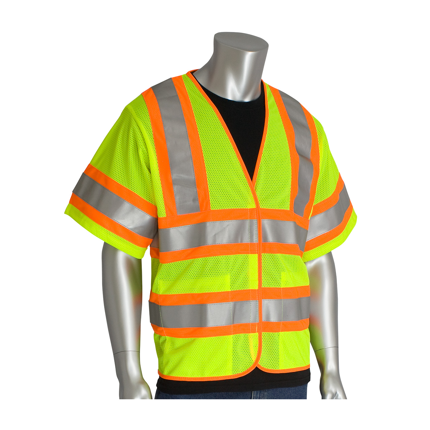 #305-HSVPFR PIP®  Flame Retardant Two-Tone Safety Vest - Class R3