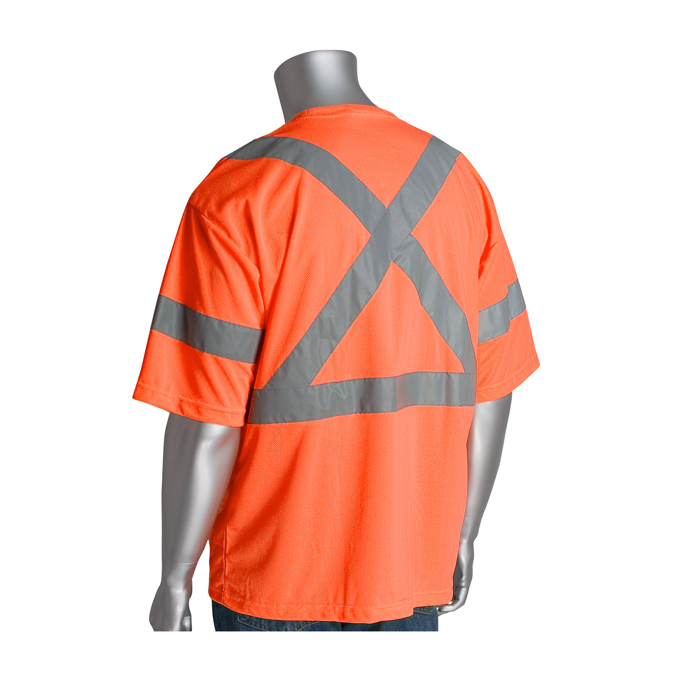 PIP® ANSI Class 3 and CAN/CSA Z96 X-Back Short Sleeve T-Shirt #313-1400