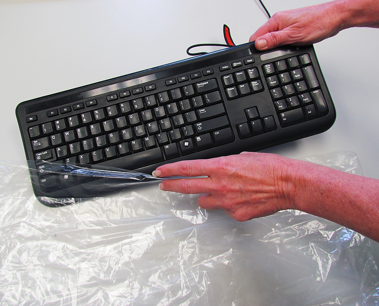 Disposable Protective Keyboard Barrier Sleeve Covers
