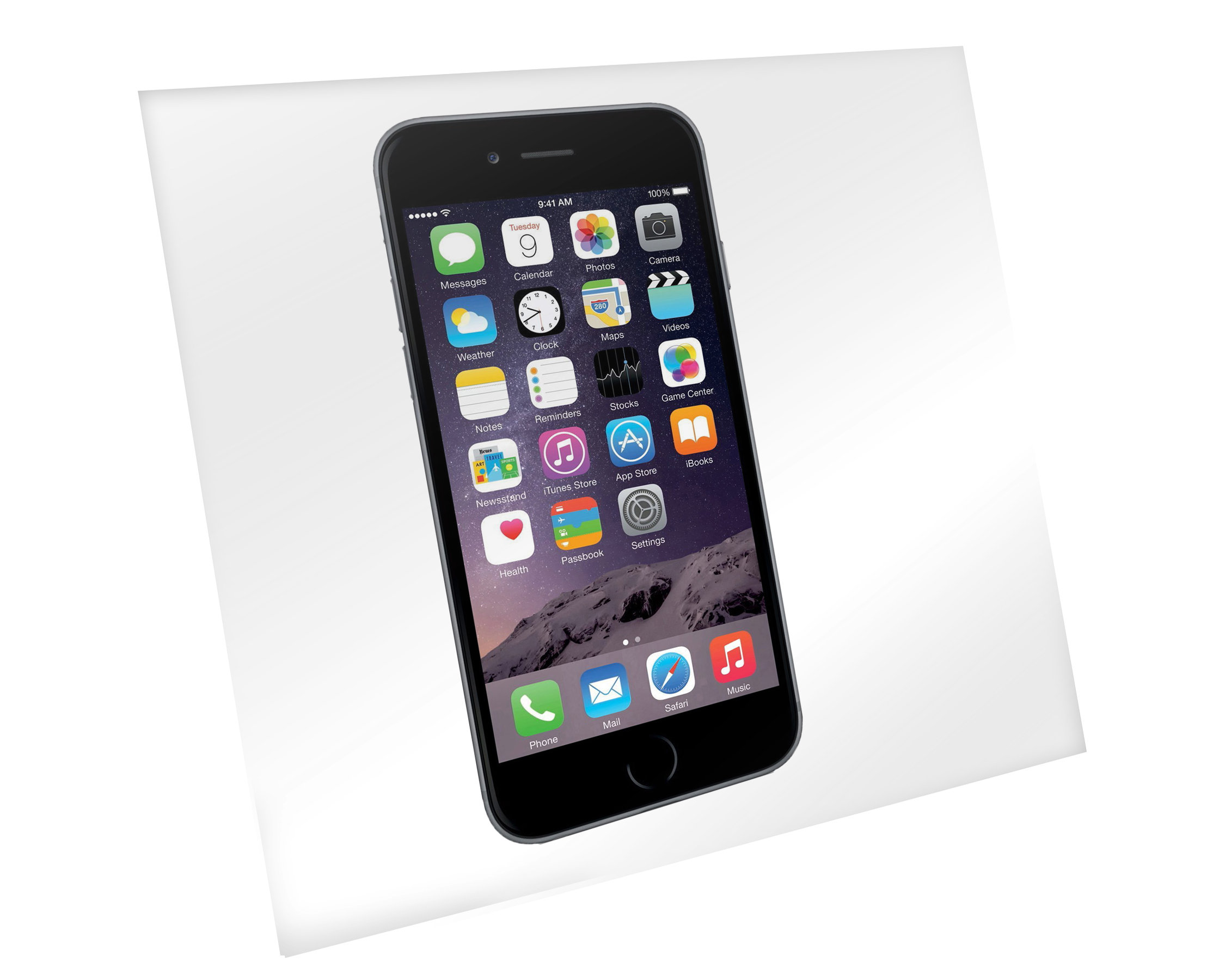 Clear 8-in x 8-in Adhesive Smartphone Barrier Film