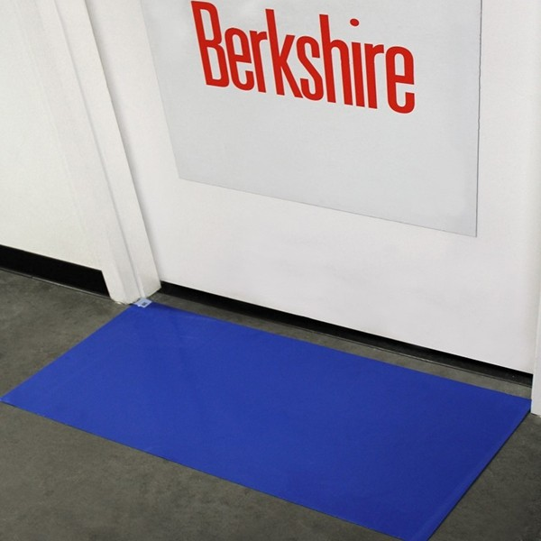 #CMP18364 CleanPath™ 18` x 36` Blue Tacky Floor Mats