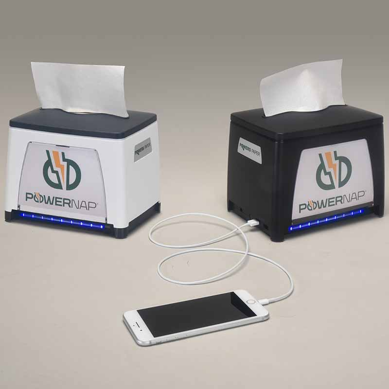 Power Paper PowerNap® Charging Solution Dispenser