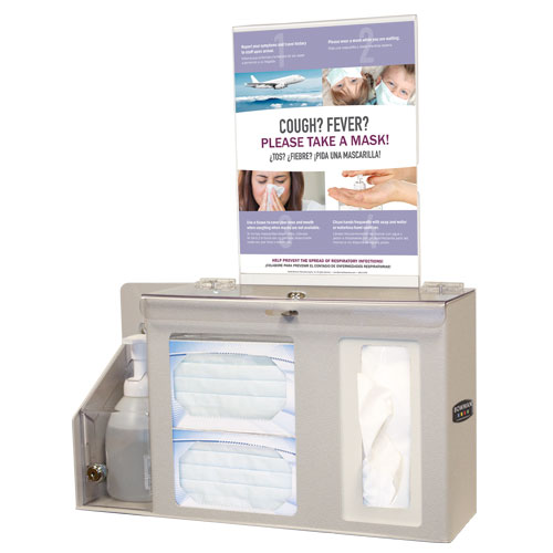BD262-0012 : Bowman Tabletop Cover Your Cough Desktop Compliance Kit